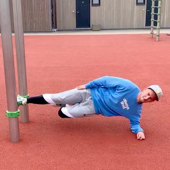 Copenhagen Plank With Movement