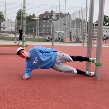 Knee Assisted Copenhagen Plank