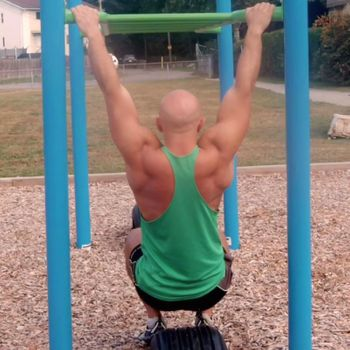 Assisted Scapula Pull Up