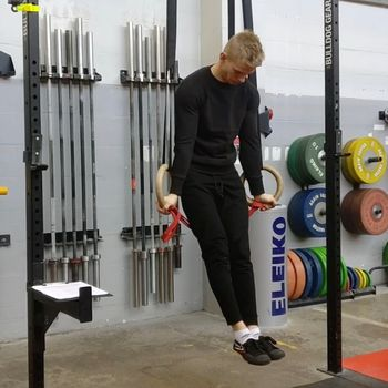 Band Assisted Ring Muscle Up