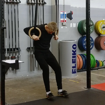 Leg Supported Ring Muscle-Up