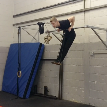 Band Assisted Bar Muscle Up