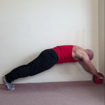 Ab Wheel Rollout Wall Assisted