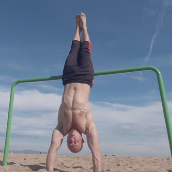 Assisted Handstand Hold
